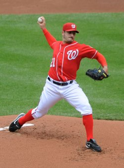 Nationals pitcher Jason Marquis in Washington