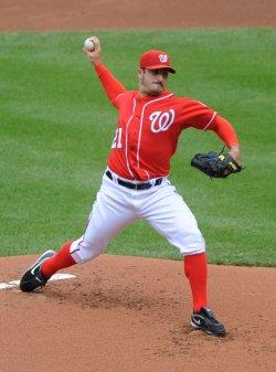 Nationals pitcher Jason Marquis in Washington