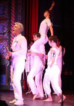 David Byrne concert in Kansas City