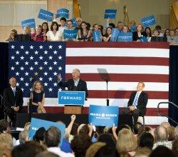 Vice President Joe Biden In Florida