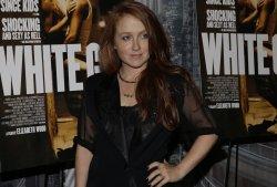 Elizabeth Wood at 'White Girl' Premiere