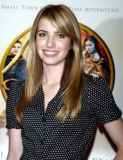 EMMA ROBERTS AT AMERICAN GIRL PLACE IN NEW YORK