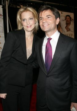 "George Stephanopoulos and Alexandra Wentworth arrive for the premiere of ""It's Complicated"" in New York"
