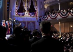 President And Mrs. Obama Attend Performance At Ford's Theatre