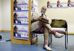 Charlie Rangel Election Night party