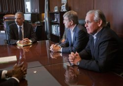 Eric Holder Travels to Ferguson Missouri