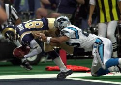 St. Louis Rams vs Carolina Panthers football