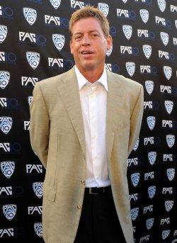 Troy Aikman attends FOX Sports/PAC-10 Conference Hollywood premiere night in Los Angeles