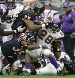 NFL Football Chicago Bears vs Minnesota Vikings