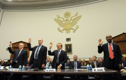 Former Fannie Mae, Freddie Mac executives testify before House committee in Washington