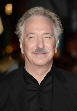 "Alan Rickman attends The World Premiere of ""Gambit"" in London"