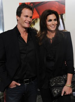"Cindy Crawford and Rande Gerber attend ""The Descendants"" premiere in Beverly Hills"