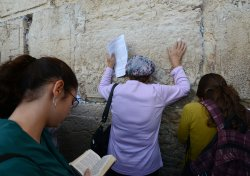 Jews Pray For Abducted Teens At Western Wall, Jerusalem
