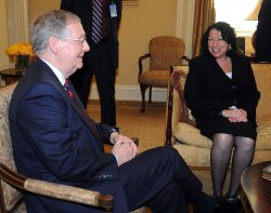 Supreme Court nominee Sotomayor meets with Senators in Washington