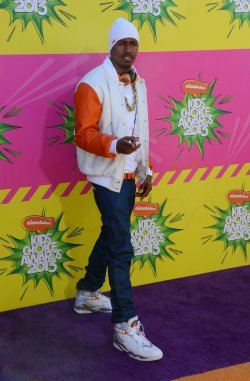 Nick Cannon attends the 2013 Nickelodeon Kids' Choice Awards in Los Angeles