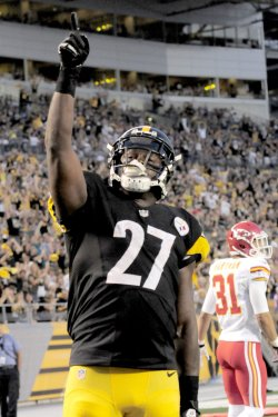 Pittsburgh Steelers Jonathan Dwyer Scores TD in Pittsburgh