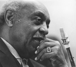 Saxophone player Benny Carter