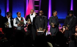 New Edition appears at the Soul Train Awards 2012 in Las Vegas