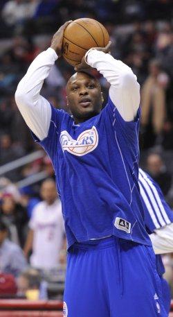 Los Angeles Clippers play the Utah Jazz in Los Angeles