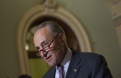 Senate Democratic Leader Schumer Speaks on Senate Health Care Bill in Washington