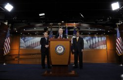 GOP leadership discusses election victories in Washington