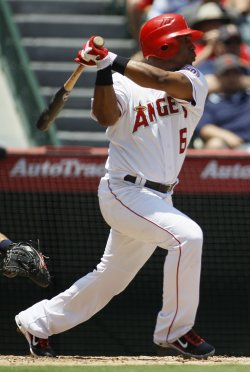 Los Angeles Angels vs Detrot Tigers in Anaheim, California