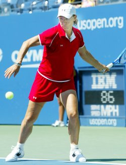 NAVRATILOVA PLAYS AT US OPEN