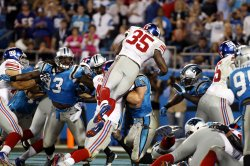 Carolina Panthers vs New York Giants in Charlotte, North Carolina