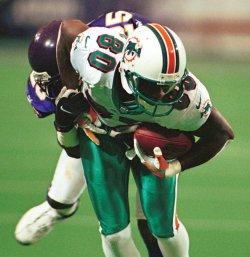 Miami wide receiver Tony Martin