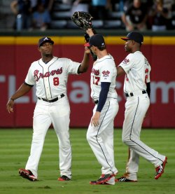 The Atlanta Braves play the San Diego Padres