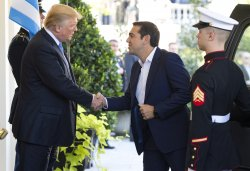 President Trump welcomes Prime Minister Tsipras of Greece to the White House
