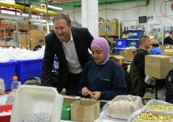 SodaStream Factory In West Bank