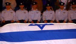 Ilan Ramon memorial ceremony in Israel