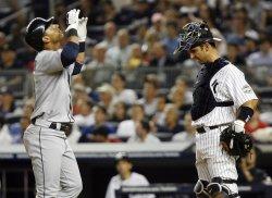 Seattle Mariners vs New York Yankees at Yankee Stadium in New York