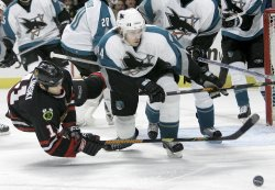 SAN JOSE SHARKS VS CHICAGO BLACKHAWKS