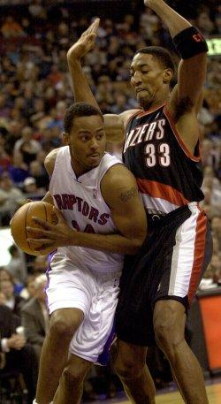 Toronto Raptors vs Portland Trail Blazers NBA game