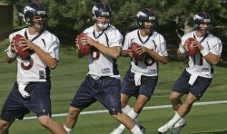 NFL DENVER BRONCOS TRAINING CAMP