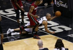 Miami Heat vs San Antonio Spurs in the NBA Finals in San Antonio