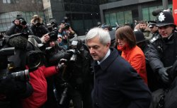 Chris Huhne Trial at Southwark Crown Court