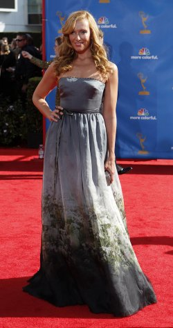 Toni Collette arrives at the 62nd Primetime Emmy Awards in Los Angeles