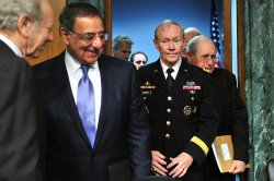 Defense Secretary Panetta and Chairman Dempsey testifies on Syria in Washington, D.C.