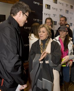 Actor Daly and Senator Boxer Arrive at the 2010 Sundance Film Festival in Park City, Utah