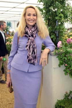 Jerry Hall at 2012 Chelsea Flower Show