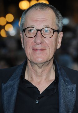 "Geoffrey Rush attends ""Pirates of the Caribbean: on stranger tides"" premiere in London"