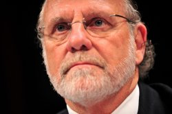 Former CEO of MF Global Jon Corzine testifies on MF Global in Washington
