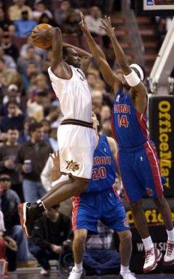 Detroit Pistons at Philadelphia 76ers NBA Basketball
