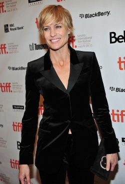 Robin Wright attends 'Rampart' premiere at the Toronto International Film Festival
