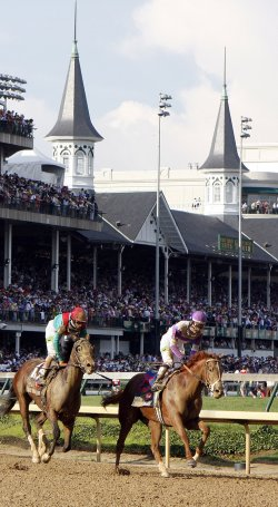 The 138th running of the Kentucky Derby in Louisville