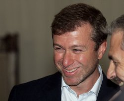 RUSSIAN OLIGARH ABRAMOVICH ATTENDS AN OPENING CEREMONY OF BUSINESS COLLEGE NEAR MOSCOW