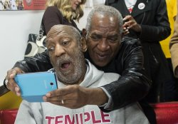 Bill Cosby Attends the Opening of Ben's Chili Bowl in Virginia